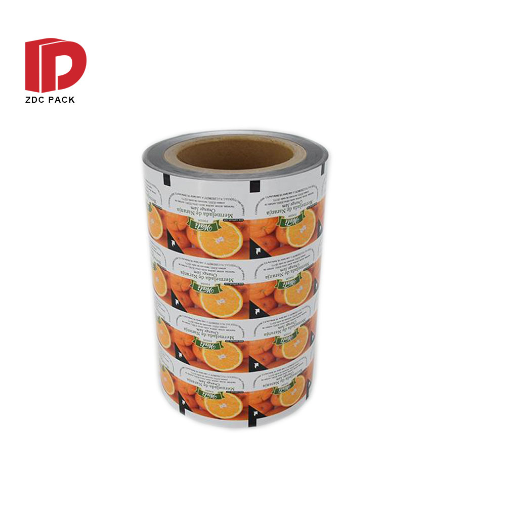 Embossed Aluminum Foil Cup Sealing Film lidding film With High Quality