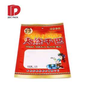 MOQ small sachets one side clear custom mylar plastic bags with zipper